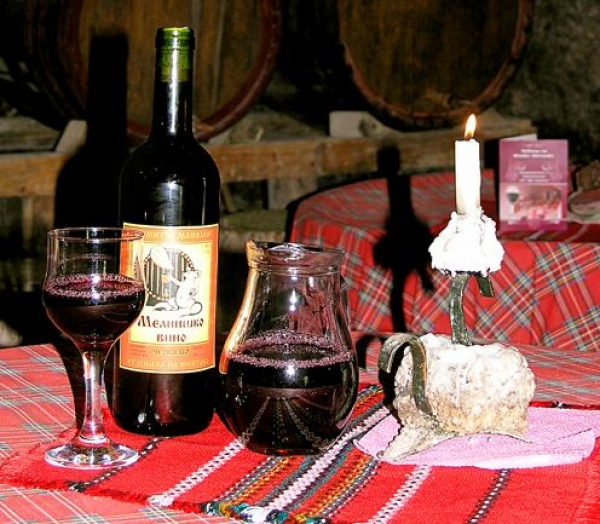 Feast of wine in Melnik