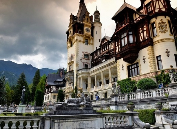 The Peles Castle - one of the most modern of its time